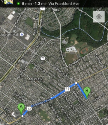 The two incidents only 1 mile, 5 mins apart from one another. A.) Brandon Tate-Brown B.) John McGeehan.